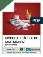 Módulo 7 Mo Grado-Matematica-FINAL