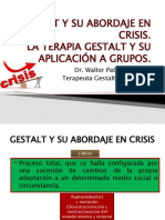 GESTALT Y SU ABORDAJE EN CRISIS