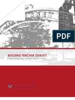 Building Teacher Quality in the Kansas City, Missouri School District - Full Report