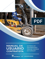 MANUAL DE USUARIO CONTRATISTA Minsur