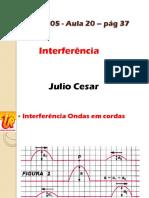 1 2013 - Física - Júlio César - Aula de 20