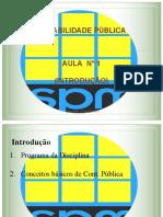 Conceitos basicos em Contabilidade Publica