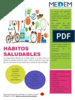 Flyer Habitos Saludables