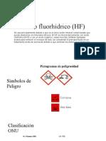 Ácido fluorhídrico (HF)