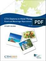 (Diploma in Hotel Management) BPP Learning Media - CTH Food and Beverage Operations-BPP Learning Media (2010)