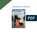 Sri Ramalingeshwaraswamy Devasthanam, Keesaragutta.