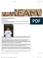 Dream It. Seek It. » Blog Archive » Exclamation of Independence