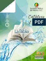 Catalago de Biblias