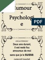 Humour et psychologie112