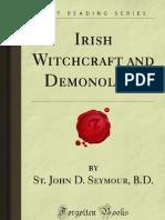 Irish Witchcraft and Demonology - 9781605069500
