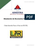 Simulación Montecarlo PASO a PASO en Hoja de Excel - BLQ