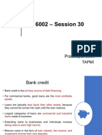 Extra Session_Session 30 - Bank Credit .pdf