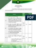 Agenda de Aprendizaje M3