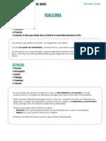 Clase 1 Ficha Clínica - Dr. Quiroz