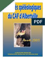 Activites CAF Albertville 2001