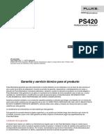 Manual Ps420 Esp