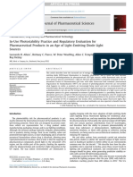 In-Use Photostability Practice and Regulatory Evaluation for Pharmaceutical Products in an Age of Light-Emitting Diode Light Sources