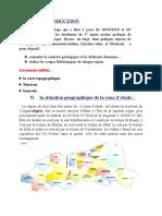 rapport reconnaissance geotech