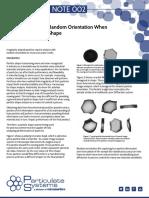 Micromerities-002 - The Importance of Random Orientation When
