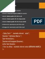 Funcţii predefinite php