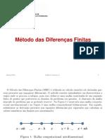6 - Diferenças Finitas - Parte 1