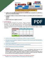 SESIONES DE MATEMATICA 4TO