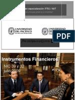 Instrumento Financieros - soluciones