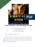 Charlene Hartnady - O Programa 01 - Uma Companheira para York (AFDP)