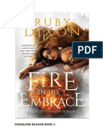 FIRE BLOOD DRAGON - Ruby Dixon Livro 3