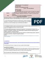 Ficha Pedagógica DE BIOLOGIA PARA 2DOS DE Bachillerato LCDA PILAR PRIETO Del  31 de Agosto al 4 de Septiembre Del 2020