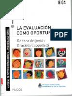 Anijovich, Rebeca; Cappelletti, Graciela. La evaluación como oportunidad.pdf