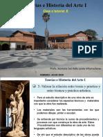 5.-Teorías e Historia del Arte. Clase o tutorial 8. Enviada a los estudiantes.INTENSIVO