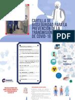 CARTILLA DE BIOSEGURIDAD PARA LA PREVENCIÓN DE LA TRANSMISIÓN DE COVID-19