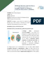 PRINCIPIOS DE LA TEORIA CELULAR
