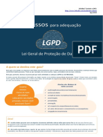 LGPD - 7 Passos para a conformidade