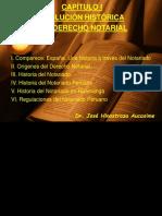 CAPÍTULO I Notarial 2020