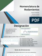 Nomenclatura de Rodamientos.pptx