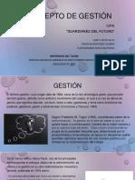 CONCEPTO DE GESTION