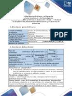 Guía de actividades y rúbrica de evaluación Fase 1 - Realizar un diagrama de afinidad sobre formulación y evaluación de proyectos