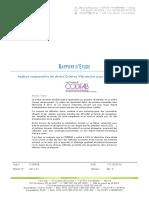 [CODIFAB] - Analyse comparative de divers Critères Vibratoires pour les Planchers Bois