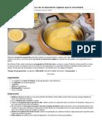 Crema de limón, un clásico de la repostería inglesa que te encantará