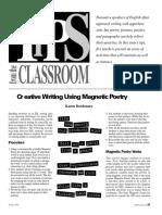 C r eative Writing Using Magnetic Poetry.pdf
