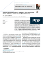 Core-scale modelling and numerical simulation of zwitterionic surfactant flooding; Designing of chemical slug for enhanced oil recovery