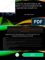 Proyecto Transversal de Soporte y Mantenimiento de Equipo
