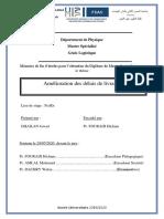 Rapport PFE Logistique