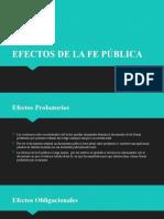 Principios y efectos