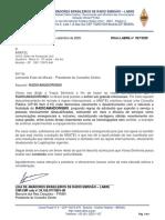OFICIO 027 AO PRESIDENTE DA ANATEL SOBRE A CP65