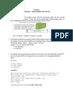 TUGAS 2 Manajemen Keuangan
