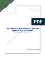 Ley Del Igv i El Isc