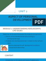 UNIT 2-MODULE 1